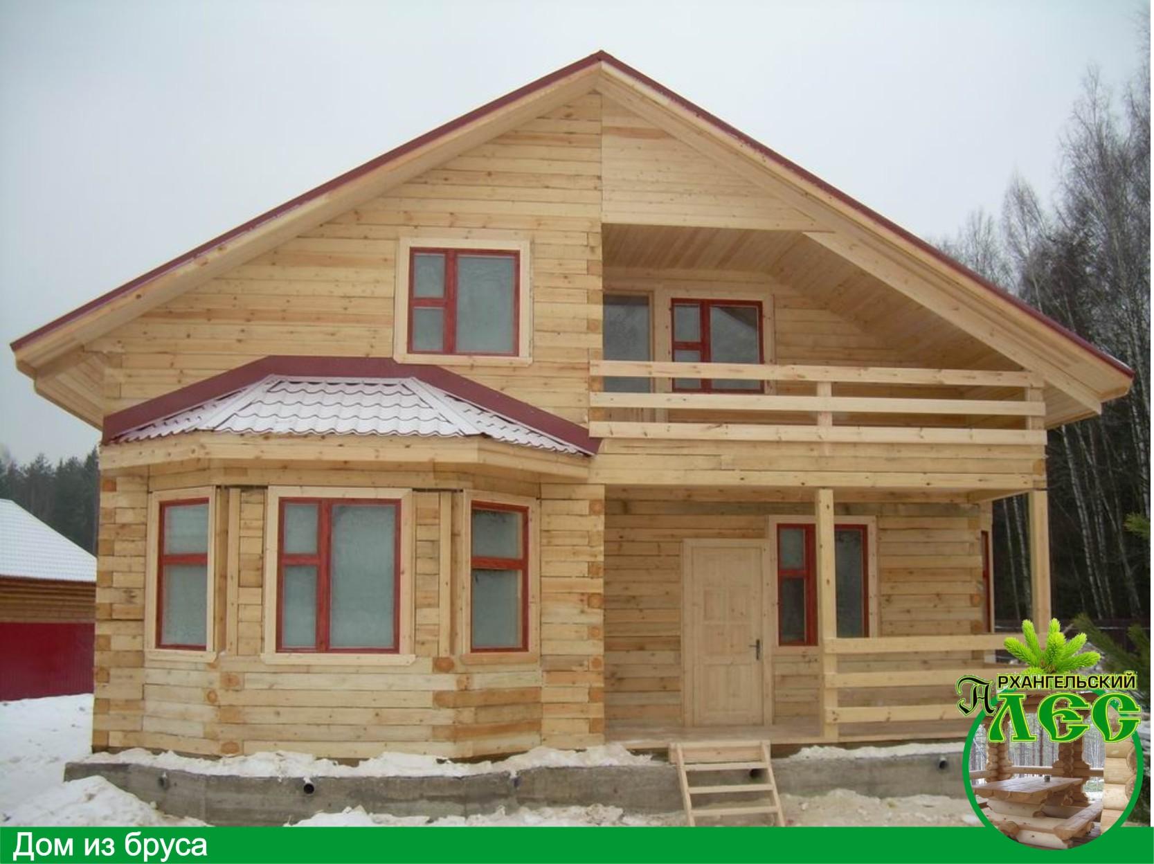 Строительство деревянных домов и бань из бруса!  Тасстрой